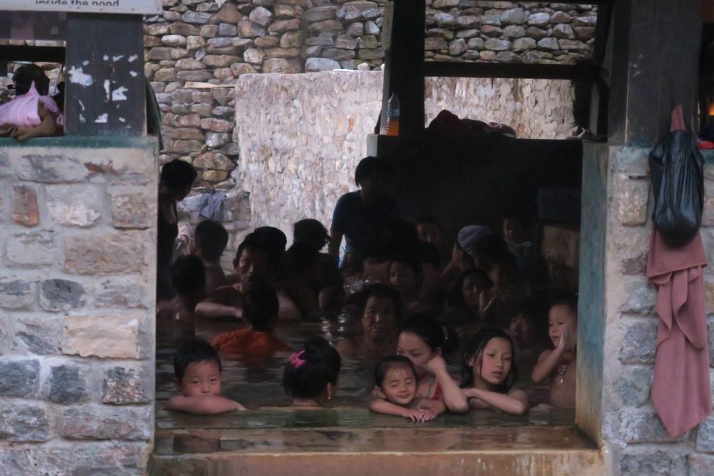 ガサ温泉②